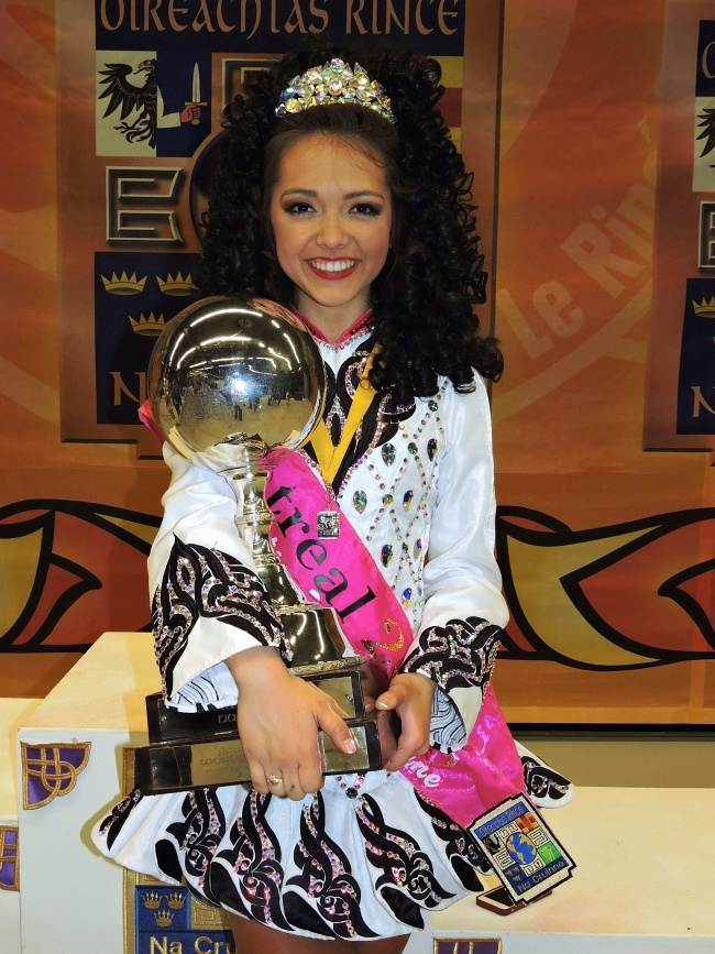 Doherty Petri School Of Irish Dancing World Champion